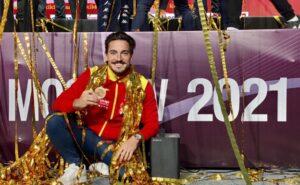Damián Quintero, bronce en Moscú y campeón de la Premier League