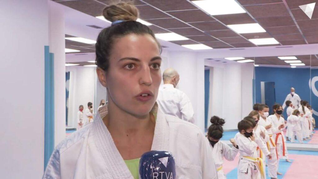 """Sandra Herver, feliz de volver a los tatamis: """"Yo ya he ganado el mundial de mi vida"""""""