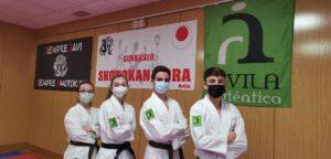 Cuatro deportistas del Shotokan Tora competirán en el regional cadete-júnior