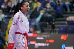 Bolivarense Yorgelis Salazar ganó oro en el Panamericano de karate 2021