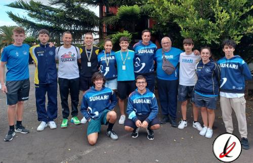 El Suhari regresa de Tenerife con tres medallas y dos quintos puestos